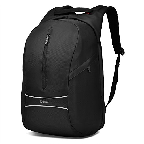 Anti-theft Travel Backpack,Extra Large Computer Bag fits 17.3 inch Laptop & Notebook Fashionable Shockproof Waterproof Business Backpack College School Bookbag Casual Daypack with Glasses Straps,Black