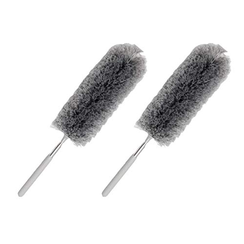 Tubayia Microfibre Cleaning Brush Dustcloth Duster for Furniture Car Window Pack of 2