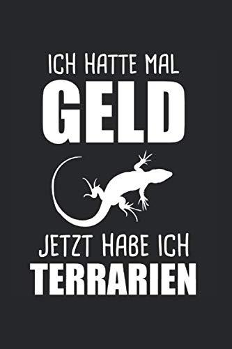 Terrarium Eidechse Reptil Reptilien: Terrarium & Eidechse Notizbuch 6'x9' Reptil Geschenk für Echse & Reptilien