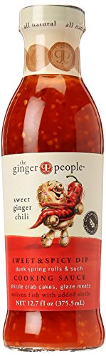 Ginger Sweet Chili Sauce – Sweet and Spicy Dip Cooking Sauce | Organic and Brings Natural Taste of Ginger, Chili, and Red Pepper | Full of Life and Good Health | 12.7 oz