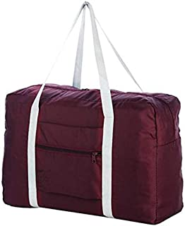 Waterproof Folding Travel Pouch luggage packing Multifunction Duffel bag Clothes Organizer Storage Bag attach to suitcase,...