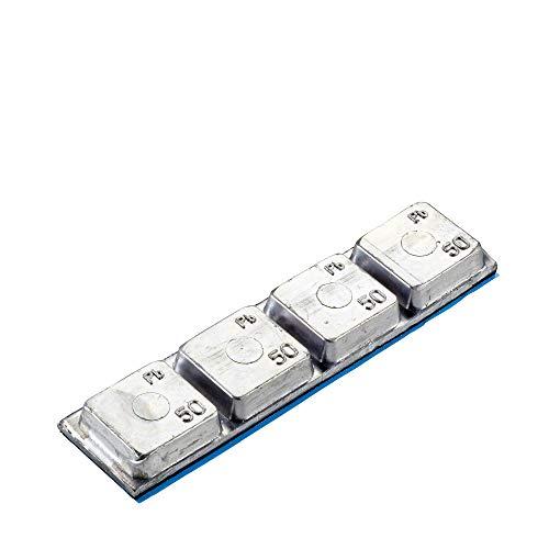 Hofmann Power Weight 10x Poids Autocollants d'équilibrage de Type 551 200g Pneus de camions Jantes en Aluminium | Poids Autocollants Jantes en Aluminium