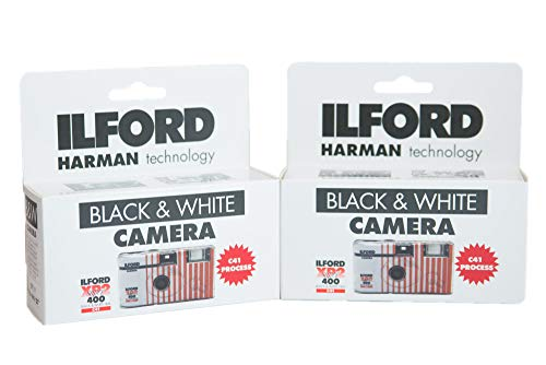 ILFORD レンズ付き白黒フィルム XP2 Super ISO400 27枚撮り(2台セット)