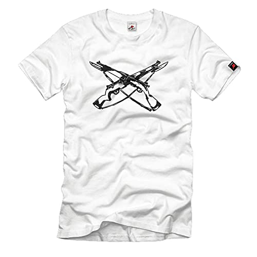 copytec Armes Weapons Fusils Pistolet armoiries–T shirt homme blanc # 2220 - Blanc - Large