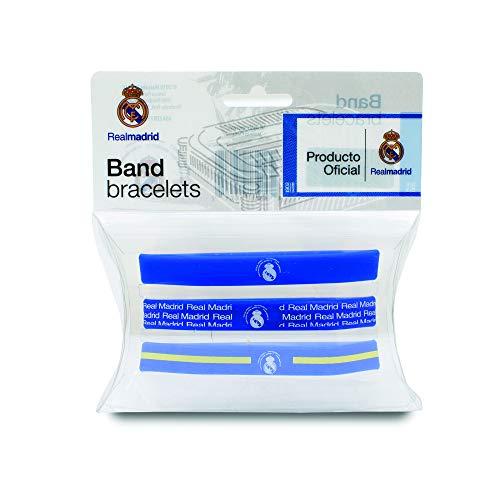Pulseiras de silicone Real Madrid