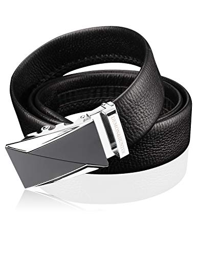 Demon&Hunter Luxury Series Men's Belt DH757B(Black/120CM)