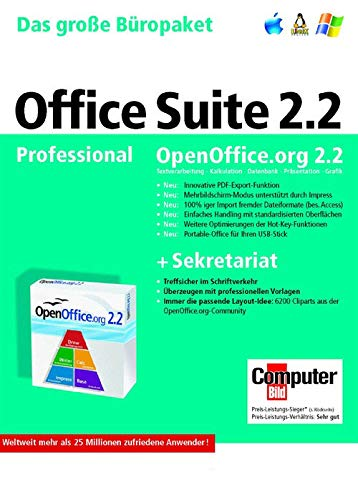 Open Office Professional Suite 2.2 DVD Box [import allemand]