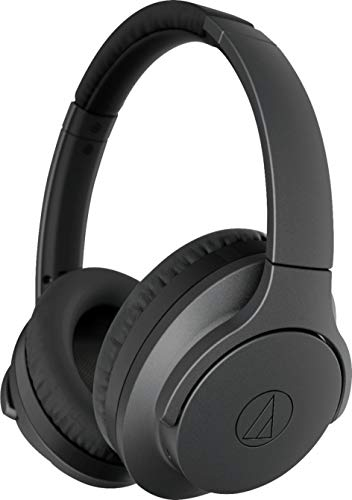 Audio-Technica ATH-ANC700BTBK, Over Auriculares, Bluetooth, 40 mm, Negro