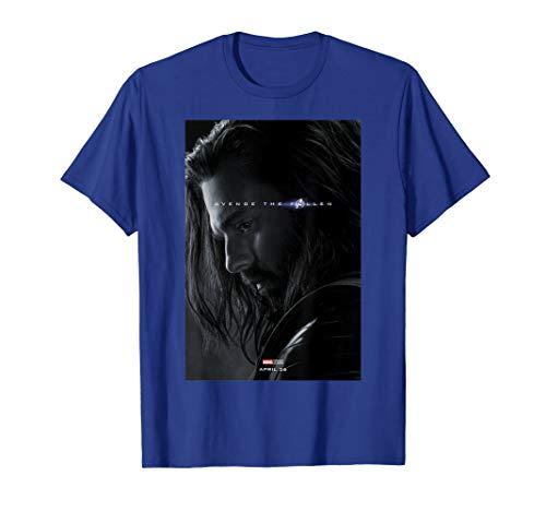Marvel Avengers Endgame Bucky Barnes Avenge The Fallen T-Shirt
