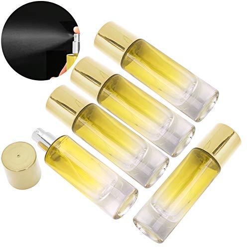 Botella de spray de perfume Botella de aceite esencial Portátil Conveniente para el bolsillo para uso doméstico para Perfume para uso en viajes(yellow)