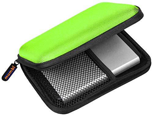mumbi externe Festplattentasche bis 6,35 cm (2,5 Zoll) grün