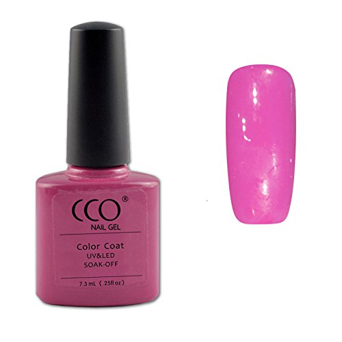 CCO UV-/LED-gel-nagellak, Hot Pop Pink