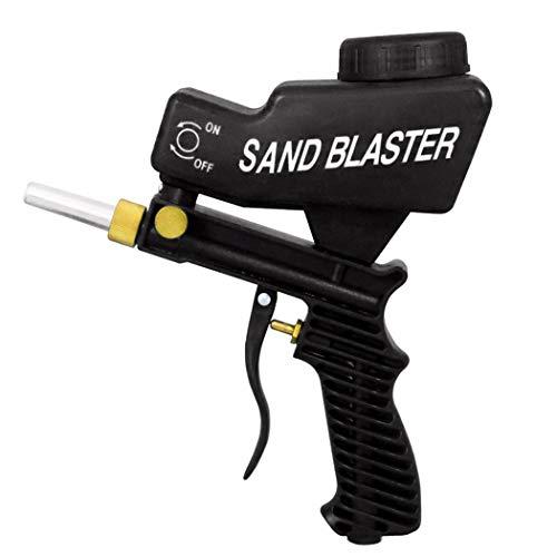 Fansport Sand Blaster Creative Gravity Rust Remover Media Blaster Feed Sandblaster Tool