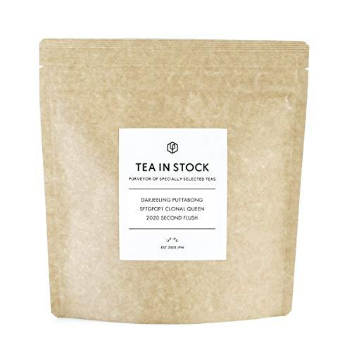 Uf-fu TEA IN STOCK 紅茶 インド ダージリン ピュッタボン茶園 SFTGFOP1 CLONAL QUEEN 2020 セカンドフラッシュ【Amazon.co.jp 限定】 (75g)