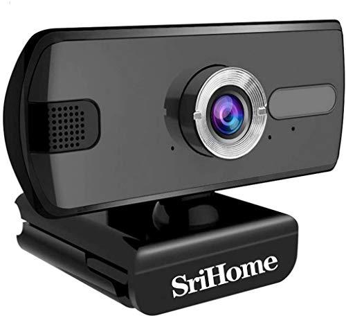 SH004 HD Webcam Autofocus, HD Webcam 3.0 Mega Videochiamata Fotocamera per...