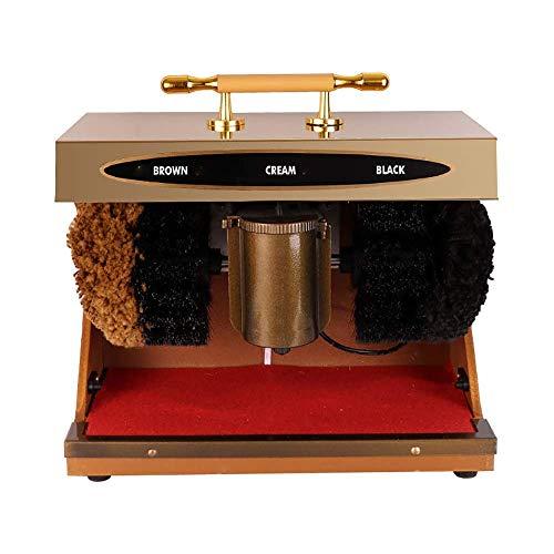 FHKBK Shoe Polisher, Automatic Shoe Polisher, Automatic Induction, Electric, Titanium, Hotel Common 220V Portable