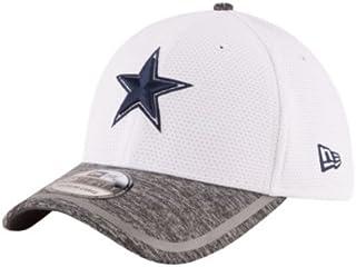 f1ddd8e636f74 Dallas Cowboys White Field Goal Training Camp 39THIRTY Flex Fit Hat   Cap