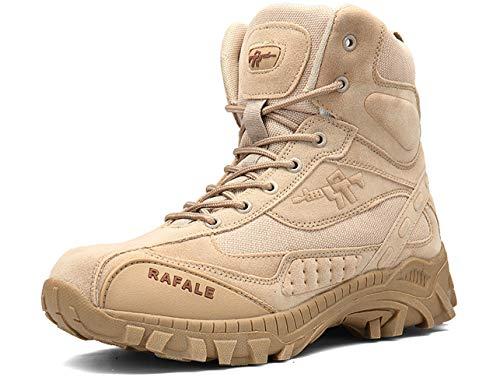 QJRRX Männer Taktische Stiefel Delta Side Einsatzstiefel Wasserdicht Boots Military Schuhe Arbeit Schuhe Kampfstiefel 39-46