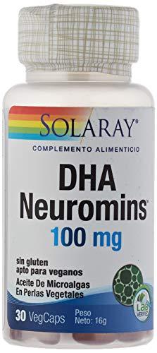 Solaray DHA Neurominas - 30 Cápsulas
