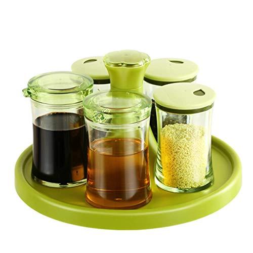 ZGQA-GQA Botellero de condimentos para cocina, botella de condimento, salero, caja de condimento, botella de condimento, caja de condimentos, tanque de condimentos