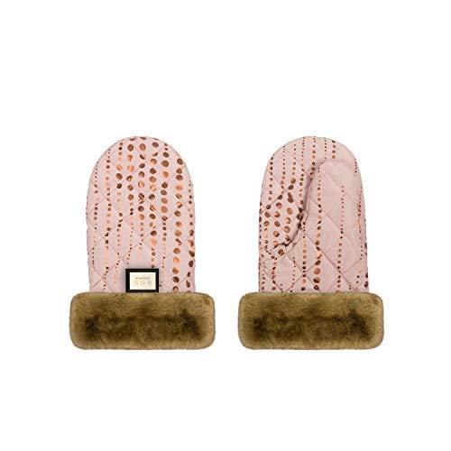 Bjällra Of Sweden Endlich! 8069911 - Guantes para carrito de bebé (120 g), color rosa dorado