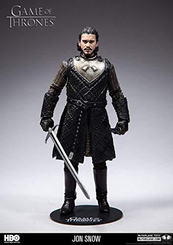 Game of Thrones Figur Jon Snow Multicolor, aus PVC, in Geschenkkarton.