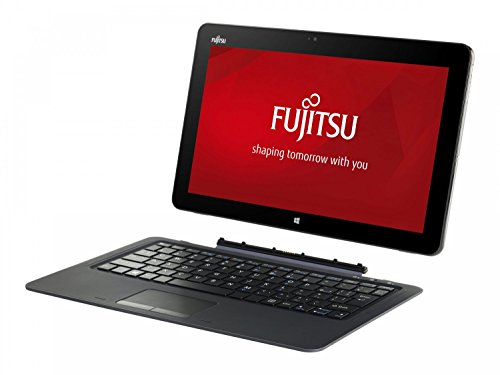 Fujitsu STYLISTIC R726 VFY:R7260M871PDE 31,8 cm (12,5 Zoll) Laptop (Intel Core i7 6600U, 8GB RAM, 512GB SSD, Win 10 Home) schwarz