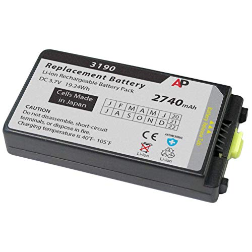 6800mAh Battery Pack Compatible with Zebra BTRY-MC32-52MA-10 MC3200 MC32N0 MC32N0-S