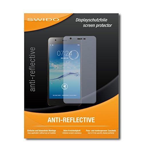 SWIDO Schutzfolie für Jiayu S3+ [2 Stück] Anti-Reflex MATT Entspiegelnd, Hoher Festigkeitgrad, Schutz vor Kratzer/Bildschirmschutz, Bildschirmschutzfolie, Panzerglas-Folie