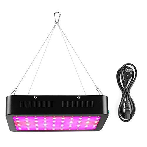 1000W LED-odlingslampa, dubbelchip-omkopplare, fullspektrumslampa för växthus, källare, familjens inomhusblomkruka (EU-kontakt)