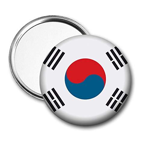 Korea (zuid) Vlag Pocket Spiegel voor Handtas - Handtas - Cadeau - Verjaardag - Kerstmis - Stocking Filler - Secret Santa