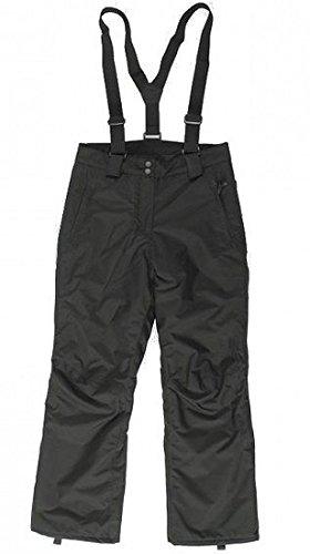 Etirel Basic Bib Skibroek voor kinderen, boedddelbroek, skibroek, zwart