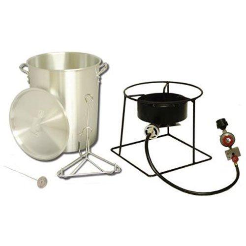 King Kooker # 1266 Portable Propane Outdoor Turkey Fryer, 29-Quart