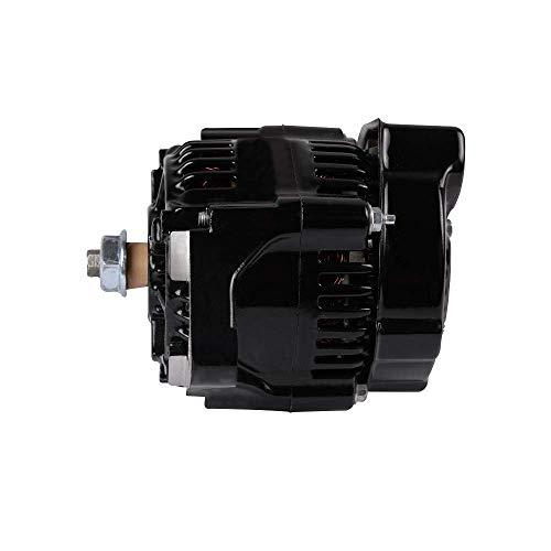 Mini Denso Racing Alternator 50 Amp 12 Volt Black 1-Wire