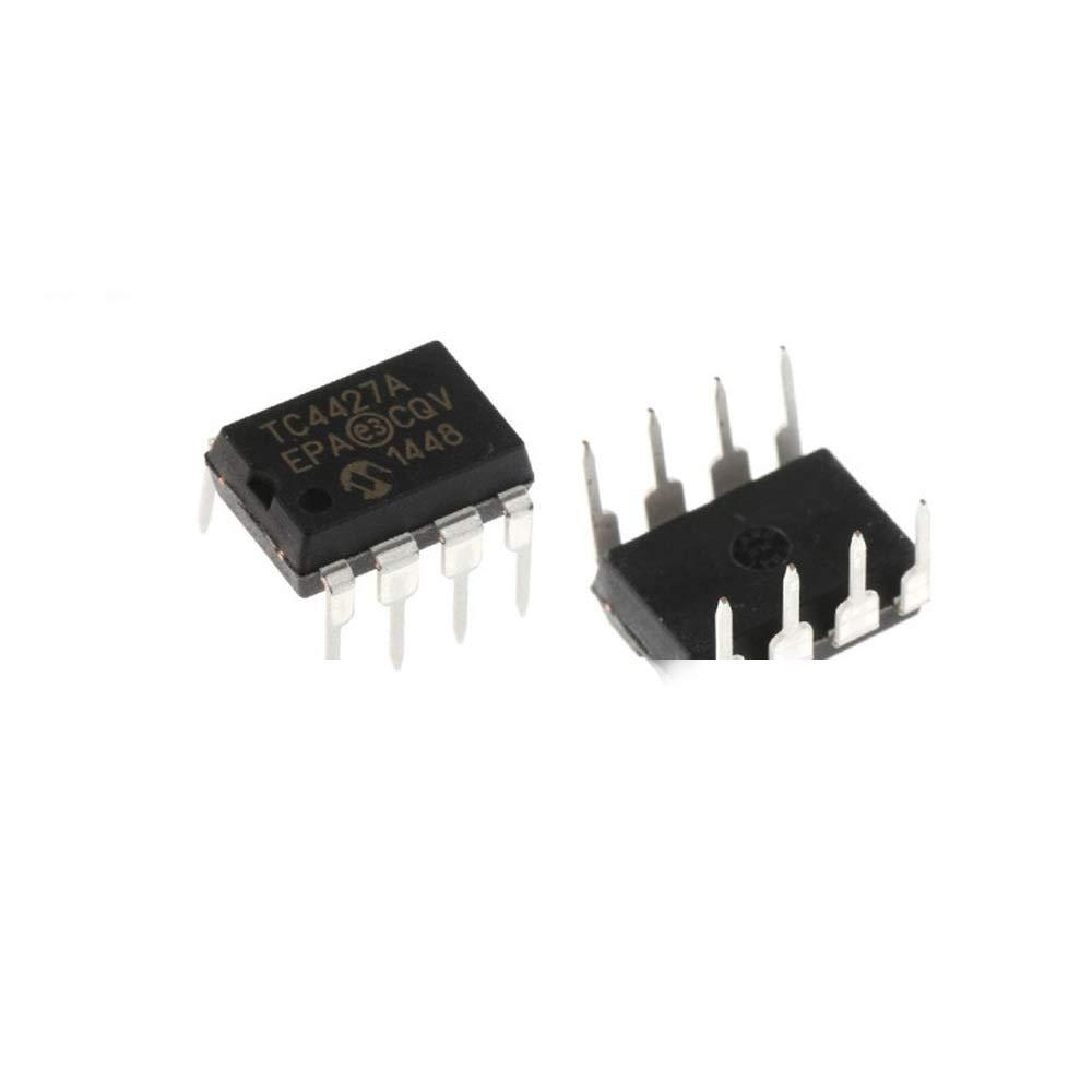 Al sold out. 10Pcs TC4427AEPA TC4427A DIP-8 Inline Power Driver MOSFET Our shop most popular MIC IC