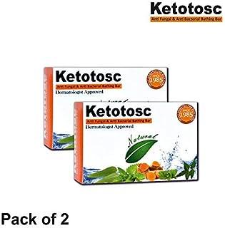 Ketotosc Antifungal and Antibacterial soap 75 gm pack of 2