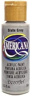 DecoArt Americana Acrylic Paint 2oz-Slate Grey - Opaque