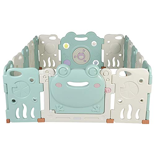 Buy Bargain Quisilife Playpen for Baby and Toddlers Baby Plastic Big Playpen Colors Foldable Portabl...