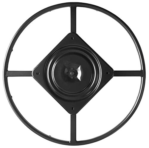 """chairpartsonline 24"""" Replacement Ring Base w/Swivel for Recliner Chairs & Furniture, Includes Swivel - S5454"""