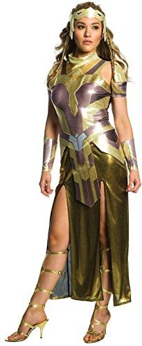 Rubies Disfraz de Hippolyta Wonder Woman Deluxe para Mujer
