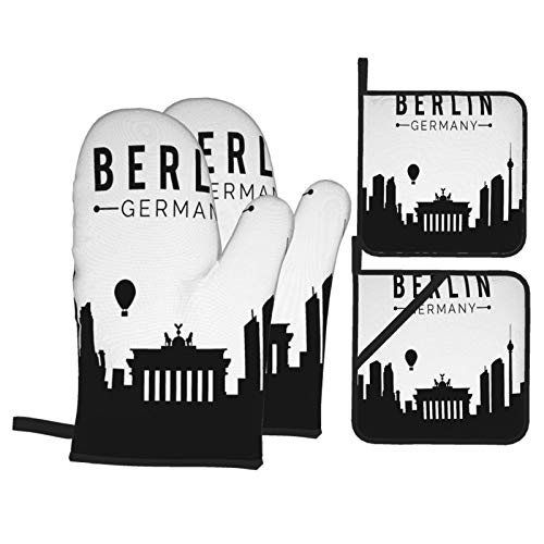 VBTDEGAB Berlin Ofenhandschuhe und...