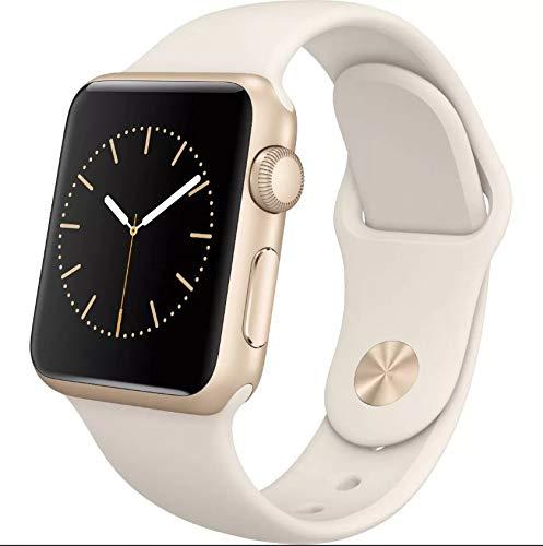Pulseira compativel com apple watch tamanho 38/40mm Bege