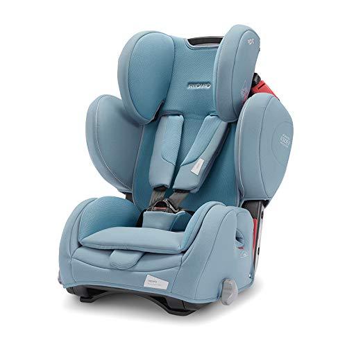 Recaro Kids, Young Sport Hero Kindersitz, Auto Kindersitz (9-36 kg), Gruppe 1-2-3, Komfort und Sicherheit, Universeller Einbau, Verstellbar, Patent Hero Sicherheitssystem, Prime Frozen Blue
