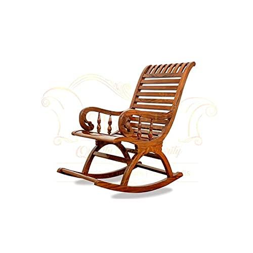 CLASSIC WOOD & CRAFT Sheesham Wood Modern Rocking Chair (Wooden)   Rocking Chair   Best Rocking Chair  Relaxing Chair