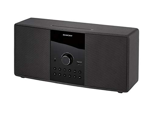 Silvercrest - Sistema estéreo Compacto con Bluetooth