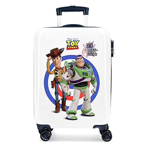 Disney Toy Story 4 Multicoloured Cabin Suitcase 37 x 55 x 20 cm Rigid ABS Combination Lock 32 Litre 2.5 kg 4 Double Wheels Hand Luggage