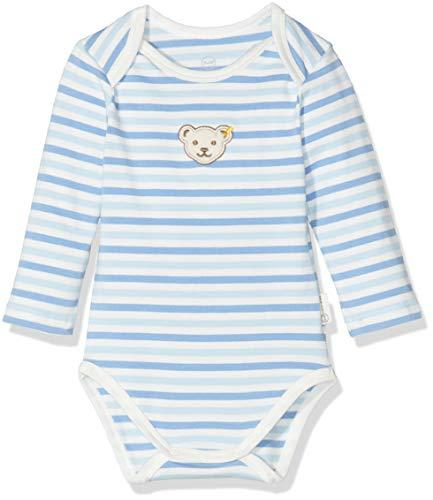 Steiff Unisex Baby Formender Body, Blau (Allure 3110), 56