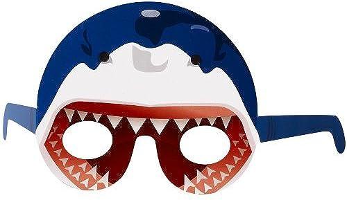 Shark Head Party Favors - Photo Prop Masks (8) by BirthdayExpress