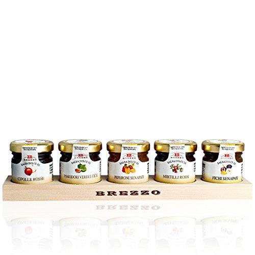 Italian Condiments for Cheeseboard Gift Box (4 x 110g)