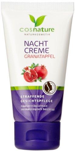Cosnature Nachtcreme Granatapfel 50 ml, 3er Pack (3 x 50 ml)